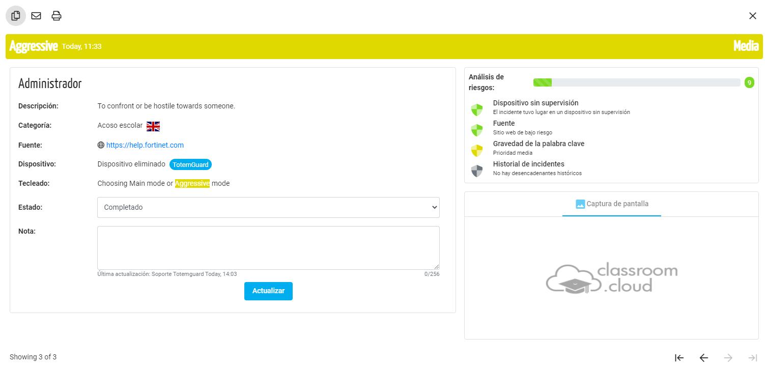 Palabra Clave Classroom Cloud
