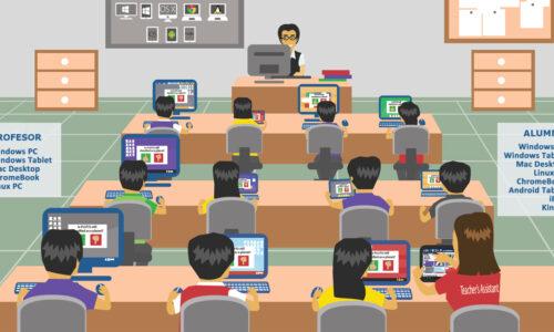 Retoma el control del aula TIC sin moverte del asiento